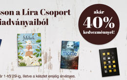 LÍRA BOOKS NOW WITH A SPECIAL DISCOUNT